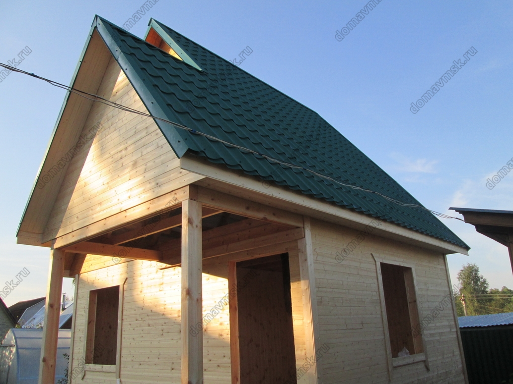 Строительство каркасного дома д. Арханово